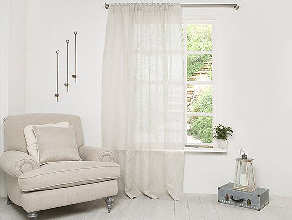curtain view cheap made pleat online sheer pencil pure product custom linen categories curtains ready