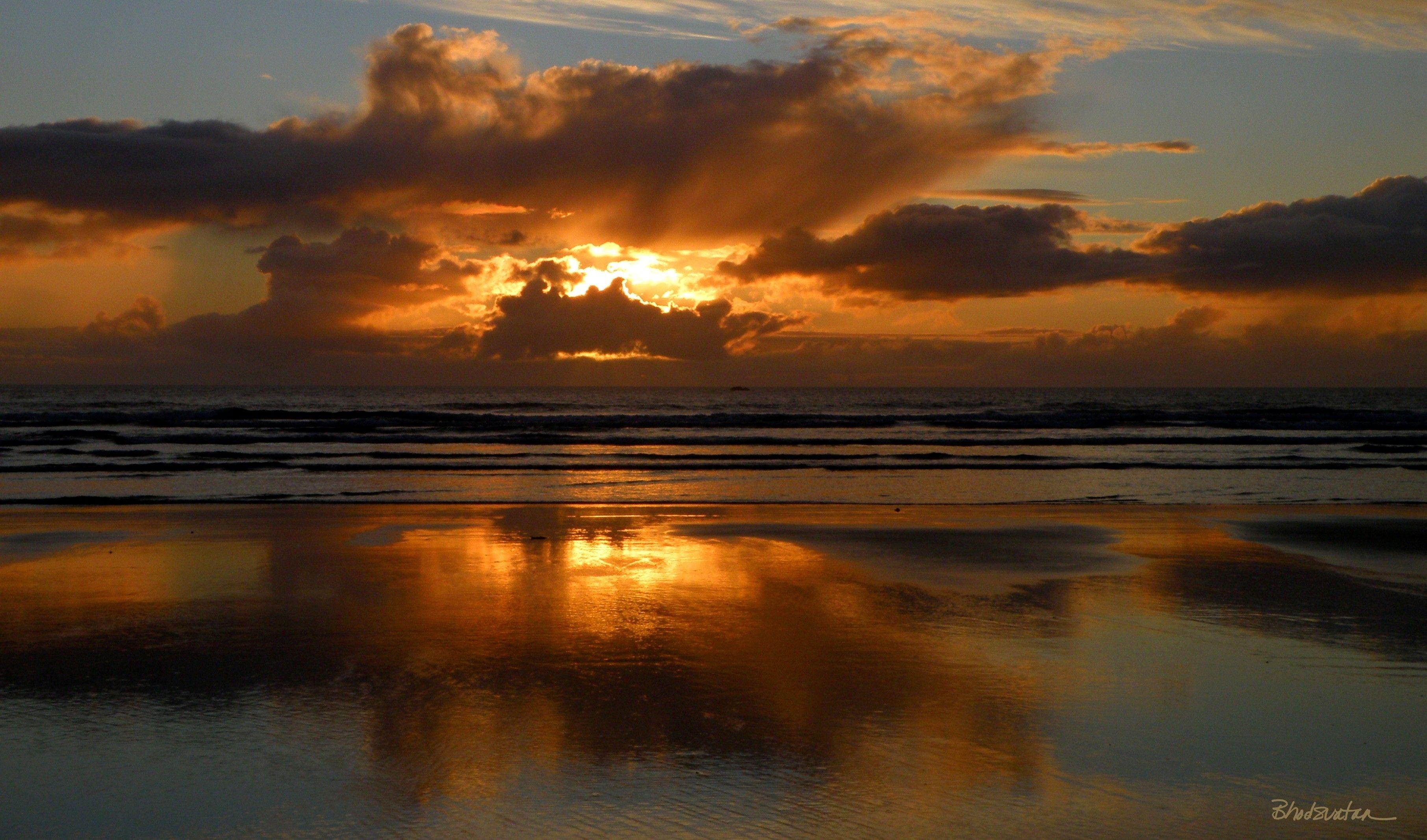 Bailey Beach Gold Southern Oregon Coast Coos Bay