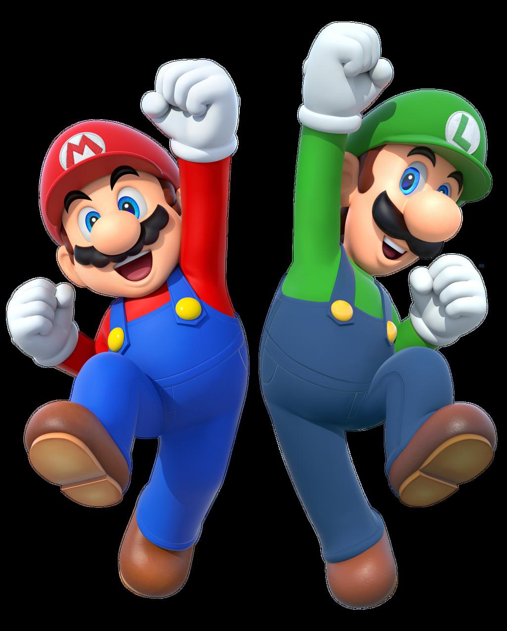 Mario And Luigi 2015 Render By Banjo2015 On Deviantart Super Mario Kunst Mario Und Luigi Super Mario Bros