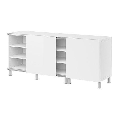 best storage combination w sliding doors ikea adjustable feet for stability on uneven floors. Black Bedroom Furniture Sets. Home Design Ideas