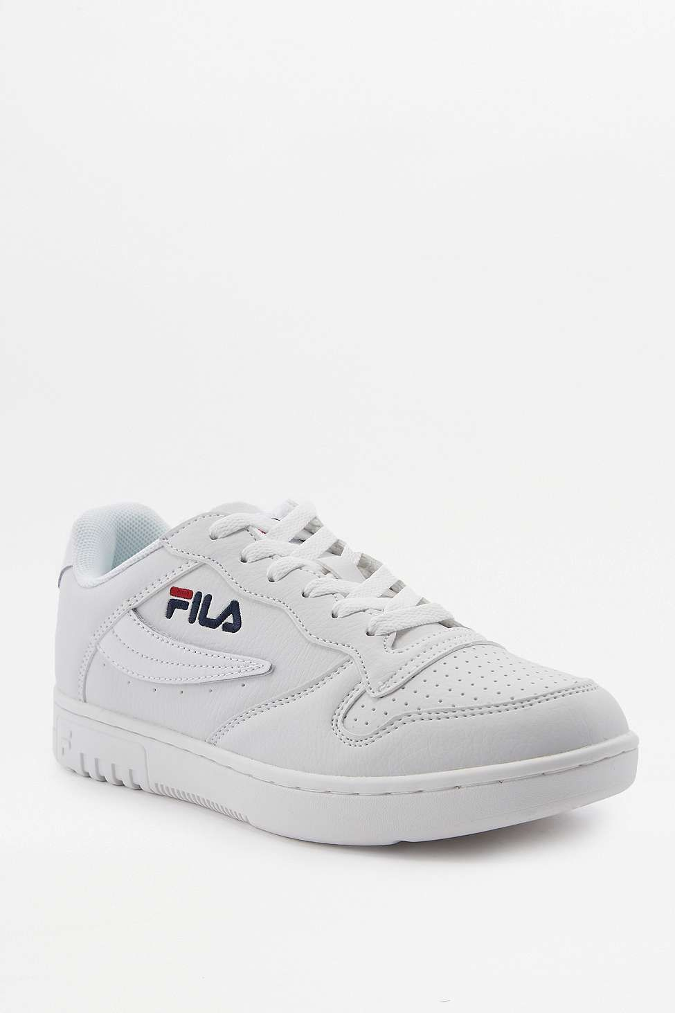 46b12ca4f23 Fila FX-100 White Low Top Trainers