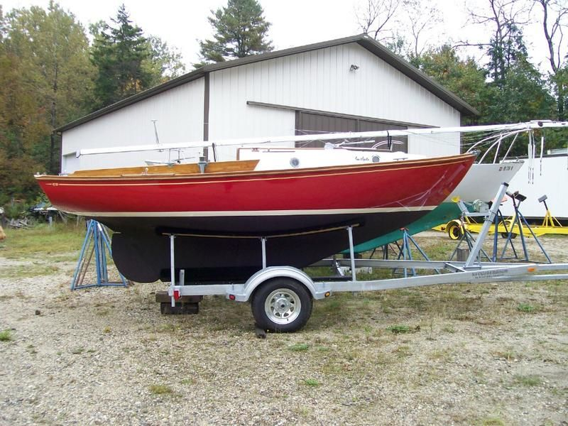1978 Cape Dory Typhoon Weekender Sailboat For Sale In Maine