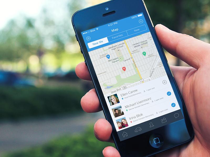 Carpooling App Ui Inspiration Iphone App Design App Design 및