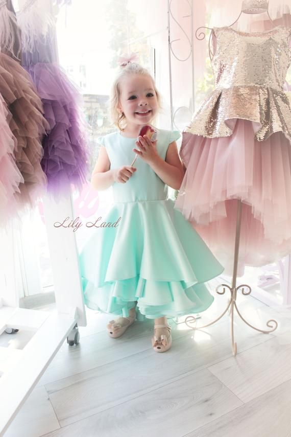 aa88af576 Girls ruffle dress mint green dress baby girl dress girls size cute girl  dress toddler ruffle dress