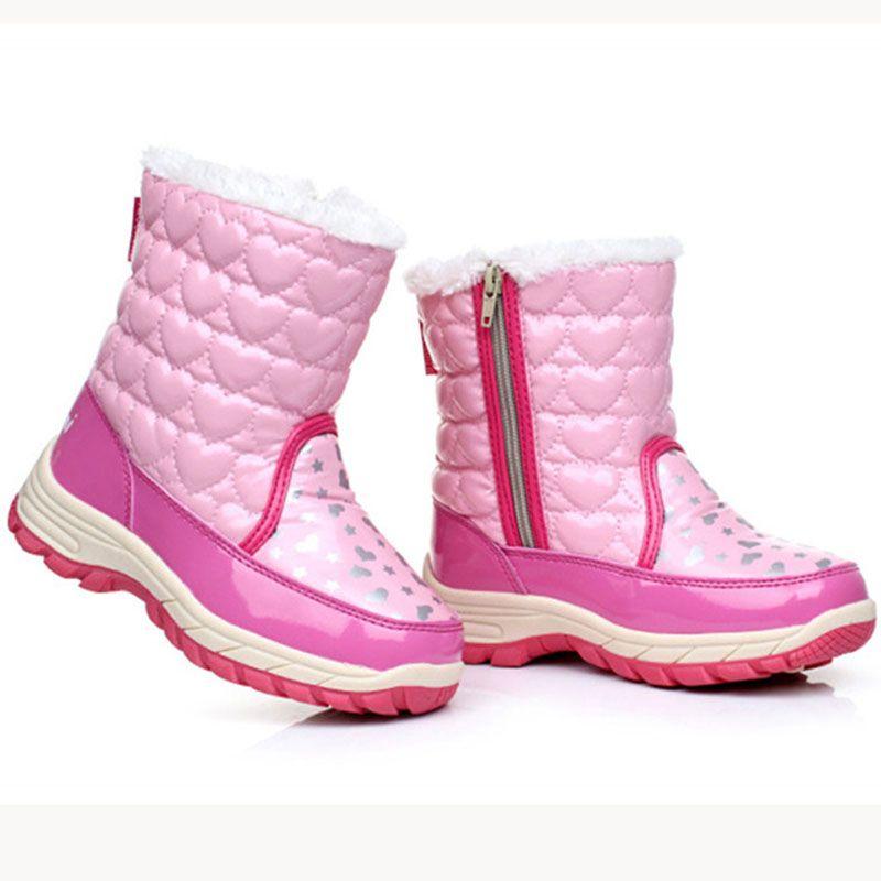 3623a71e9 Encontrar Más Botas Información acerca de Nuevo invierno para el niño botas  para la nieve niña