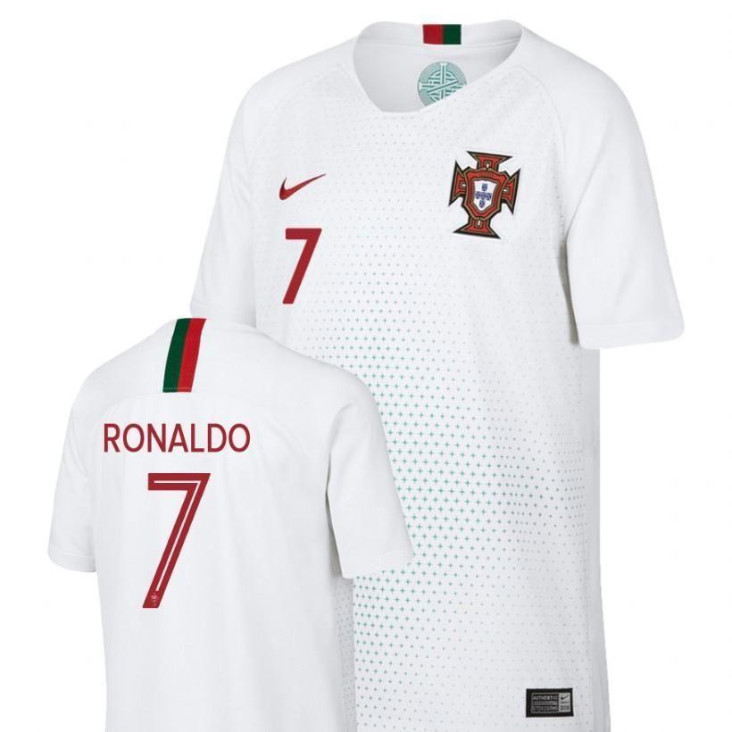 Men 7 Cristiano Ronaldo Jersey Away Portugal National 2018 Fifa World Cup Ronaldo Jersey Cristiano Ronaldo Jersey Soccer Jersey