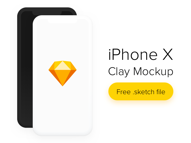 10878+ Iphone Mockup Clay DXF Include