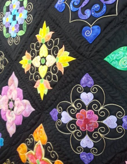A Visit To The Dallas Quilt Show Machine Embroidery Embroidered