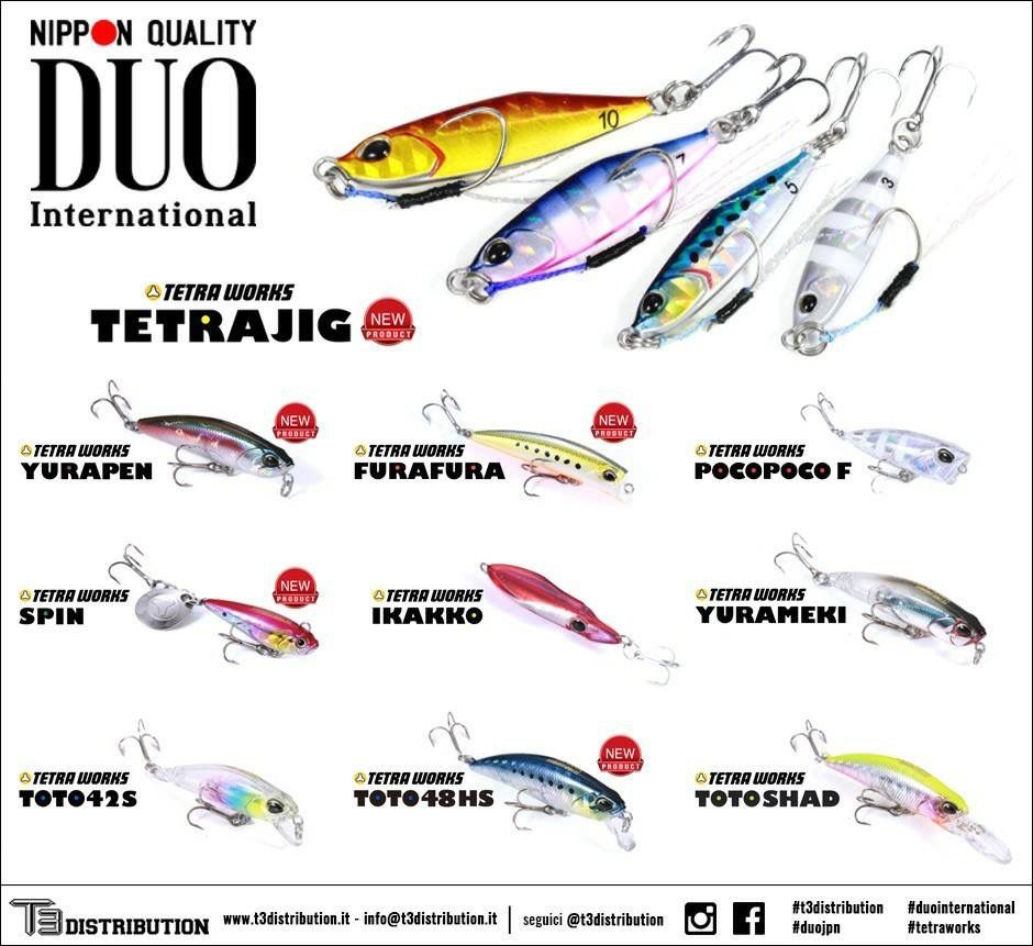 Tetra Works Senuelos De Pesca Pesca Anzuelo