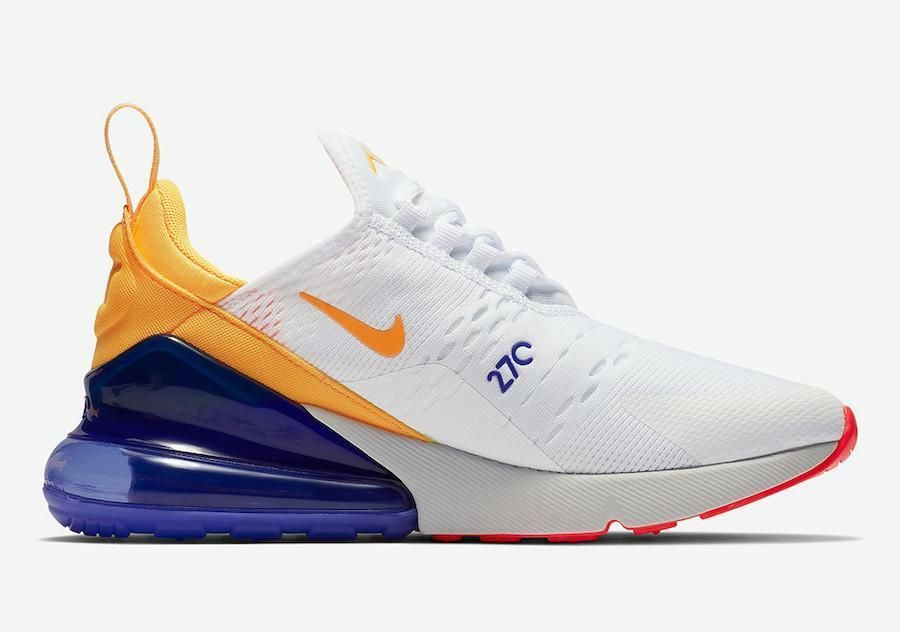 c637528b17a Womens Nike Air Max 270 Philippines White Laser Orange Violet Crimson  AH6789-105  fashion  clothing  shoes  accessories  womensshoes   athleticshoes (ebay ...