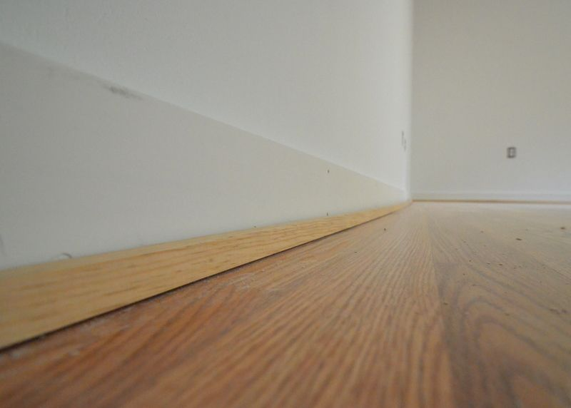 Upstairs In The Wood Shop Baseboards Shoe Molding How To Install Baseboards