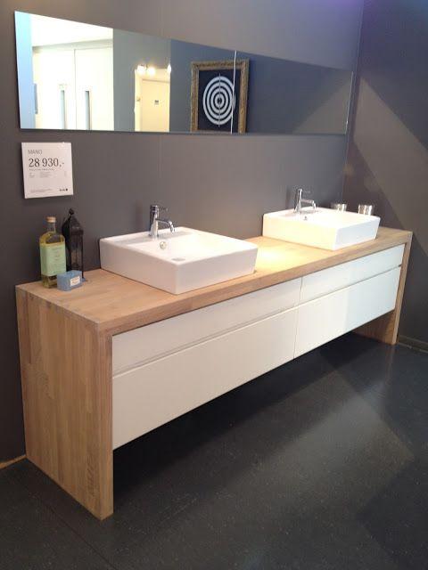 KVIK badkamer meubel + lavabo\'s ! love it! | Inspirasjon til huset ...
