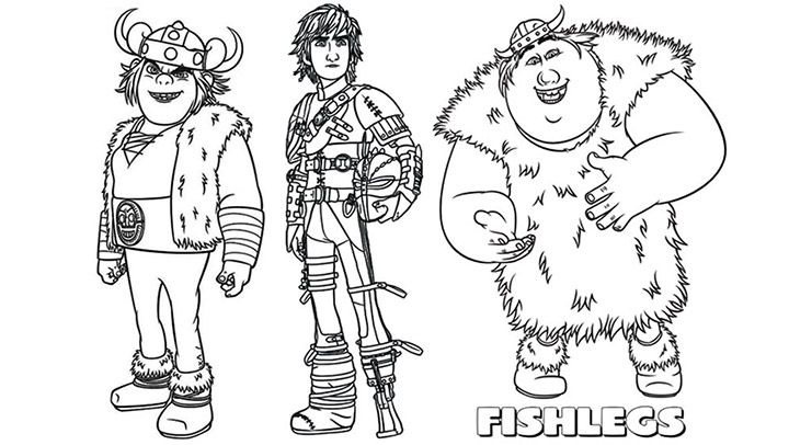 Train Your Dragon 2 Coloring Pages