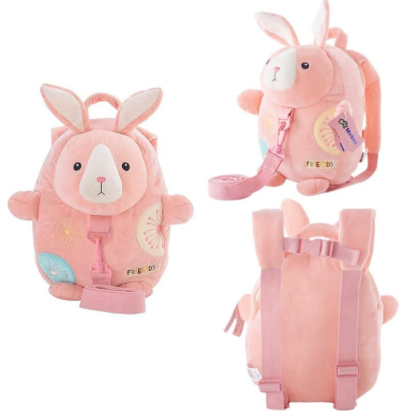 Metoo Plush Cartoon Backpacks With Walk Wings Soft Bunny Backpacks For Kids Kindergarten Gifts For Children Cartoon Backpack Kindergarten Gifts Gifts For Kids