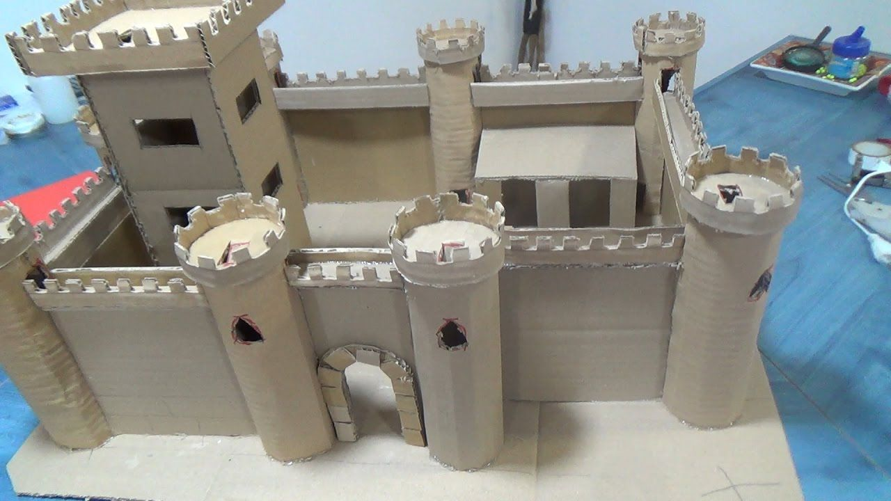 Watch How to Make a Model Castle video