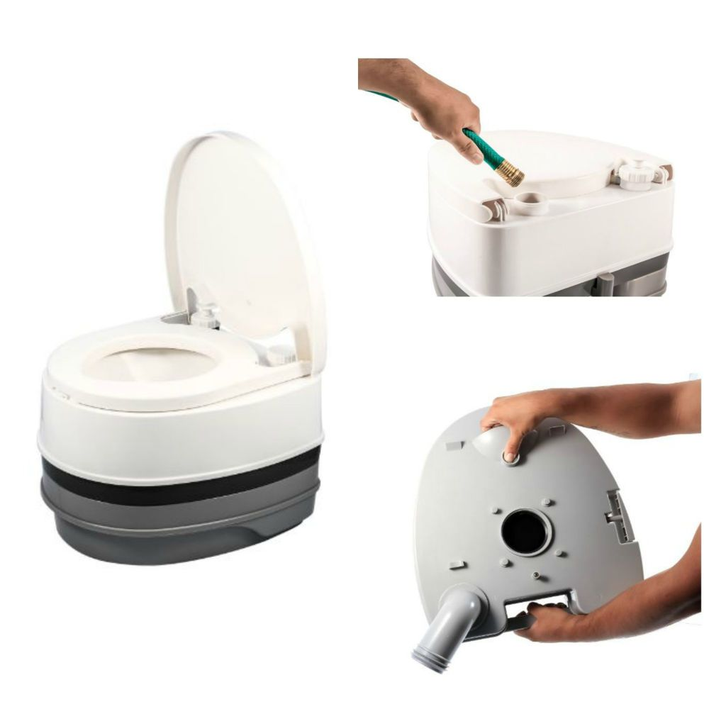 Travel Potty Adult Toddler Child Toilet Portable Camping Fishing ...
