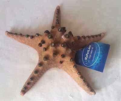 New Chocolate Chip Starfish Fish Tank Aquarium Ornament Decoration Cor18 Aquarium Ornaments Chocolate Chip Starfish Tanked Aquariums