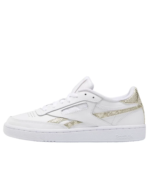 Reebok Club C 85 sneakers in white with