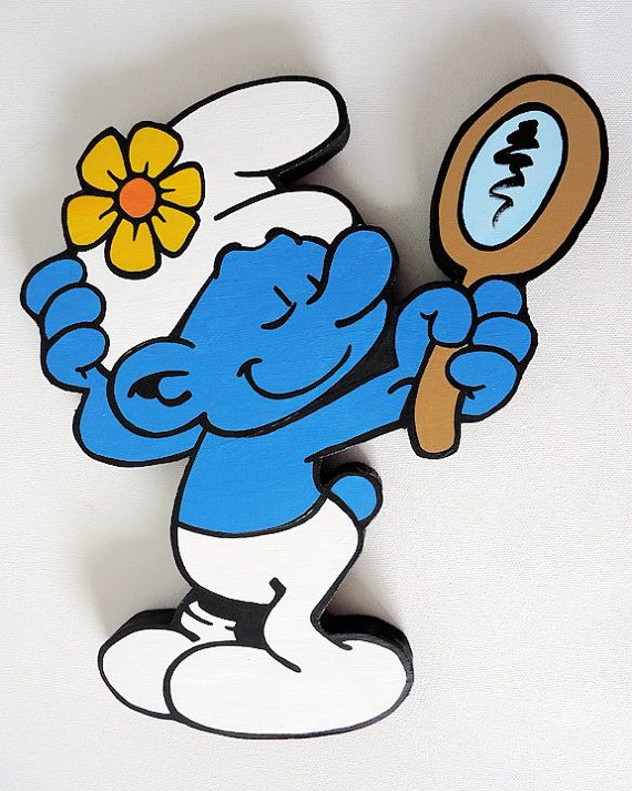 the smurfs vanity smurf wall hanging you know you could