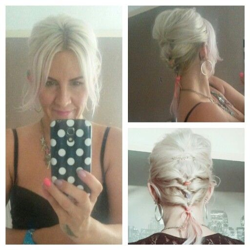 Bouffant With Twisted Ponytails Everyday Hairstyle Ideas For