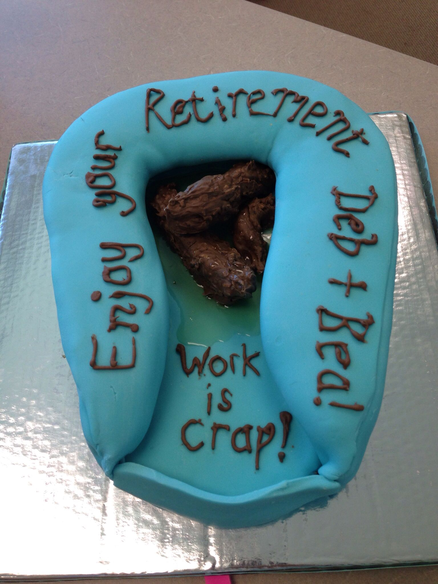 This Is A Coworker S Fabulous Cake She Made For Other