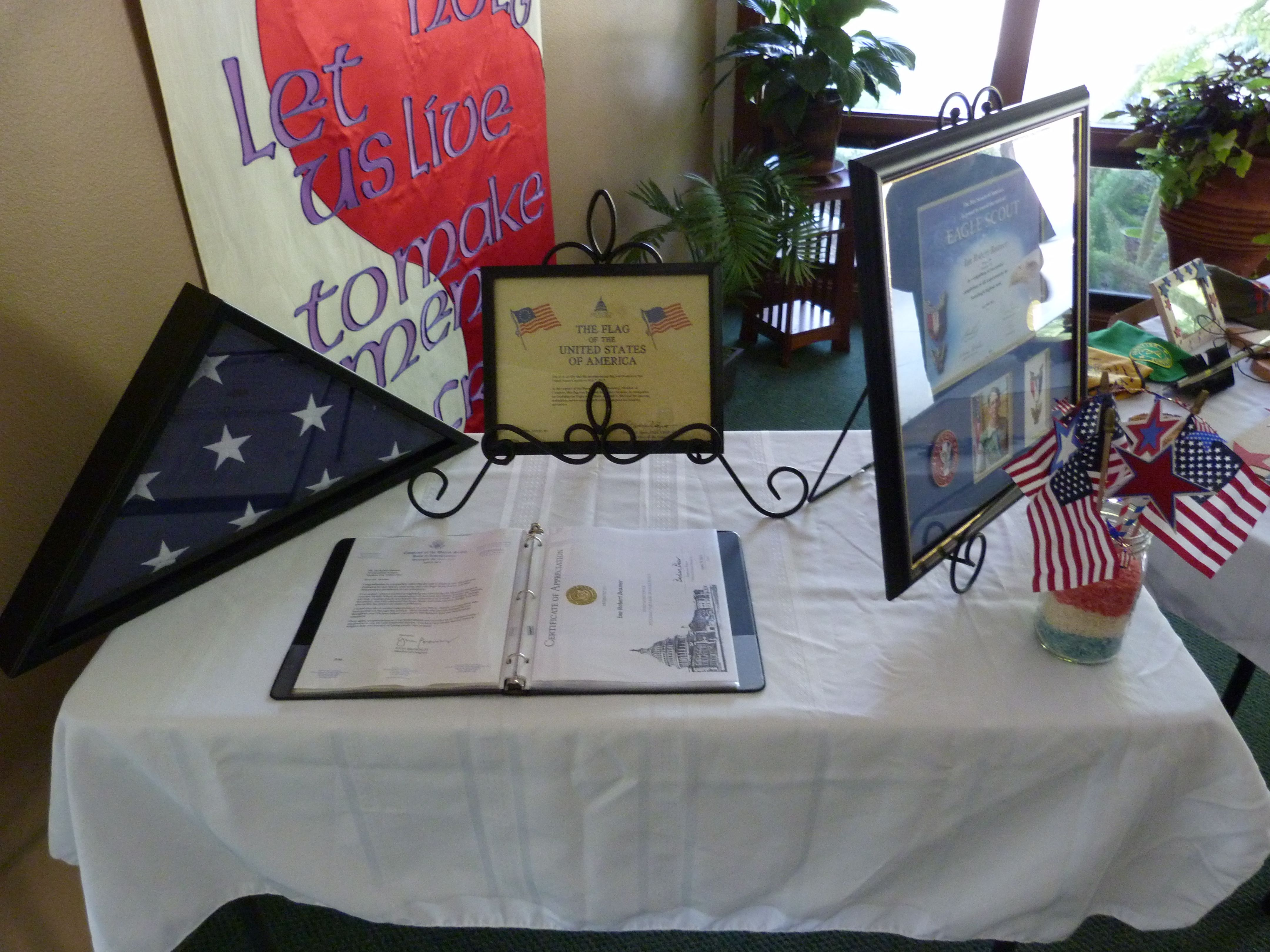Flag Flown Over U S Capitol Letters Of Commendation Letter Of Commendation Eagle Scout Gift Wrapping
