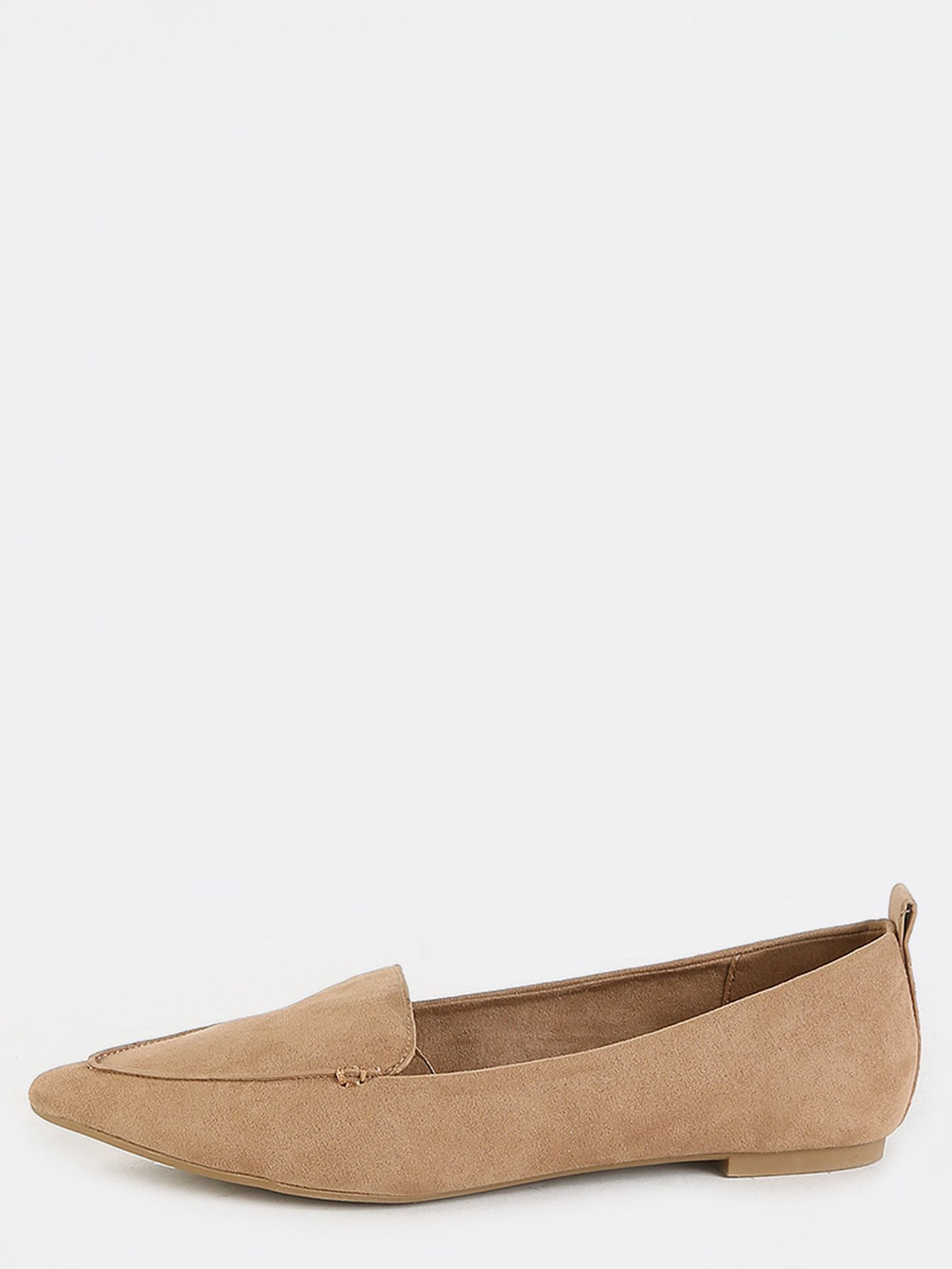 7f1b2044623d Boho meets sophisticated with the Pointed Toe Moccasin Flats! Features a pointy  toe