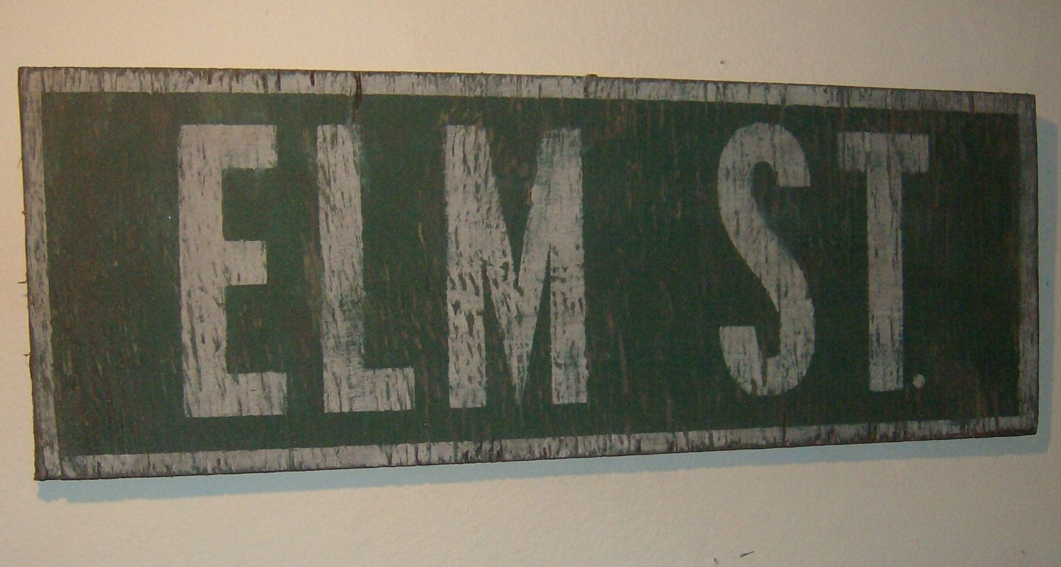Vintage and Distressed Elm Street Halloween by ATouchofChic