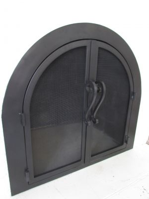 Custom Made Designs For Arched Fireplace Doors Arched Doors In