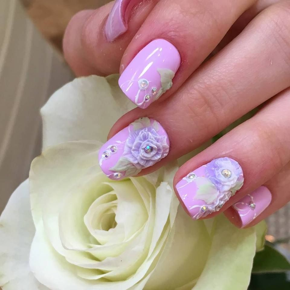 51 Exclusive 3D Nail Art Ideas That Are In Trend This Summer | Nail ...