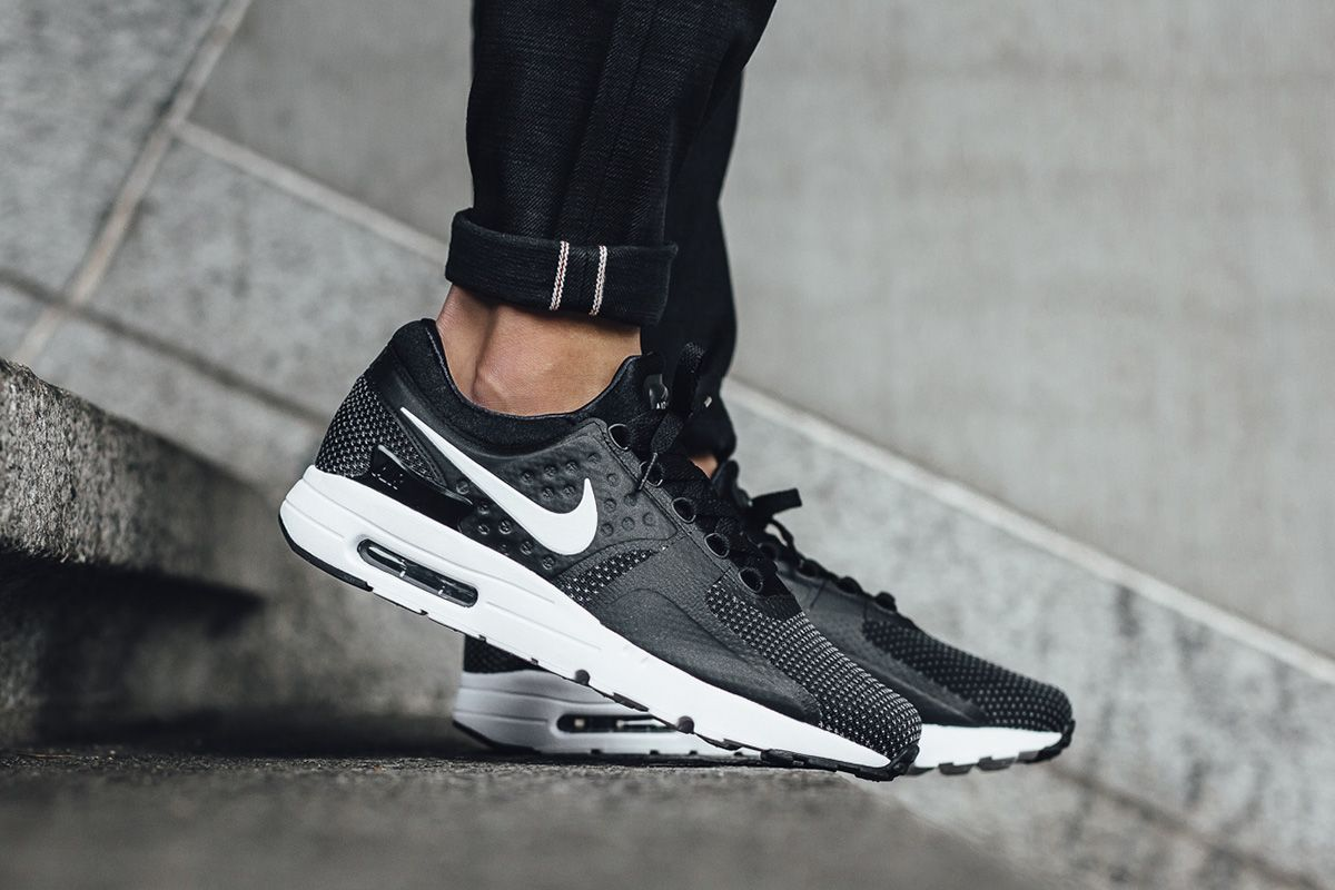 "03e330d7e1 Nike Air Max Zero Essential ""Black/Dark Grey/White"" - EU Kicks Sneaker  Magazine"
