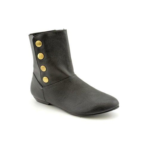 Amazon.com: Chinese Laundry Noelle Womens Size 10 Black Faux Leather  Fashion Ankle Boots