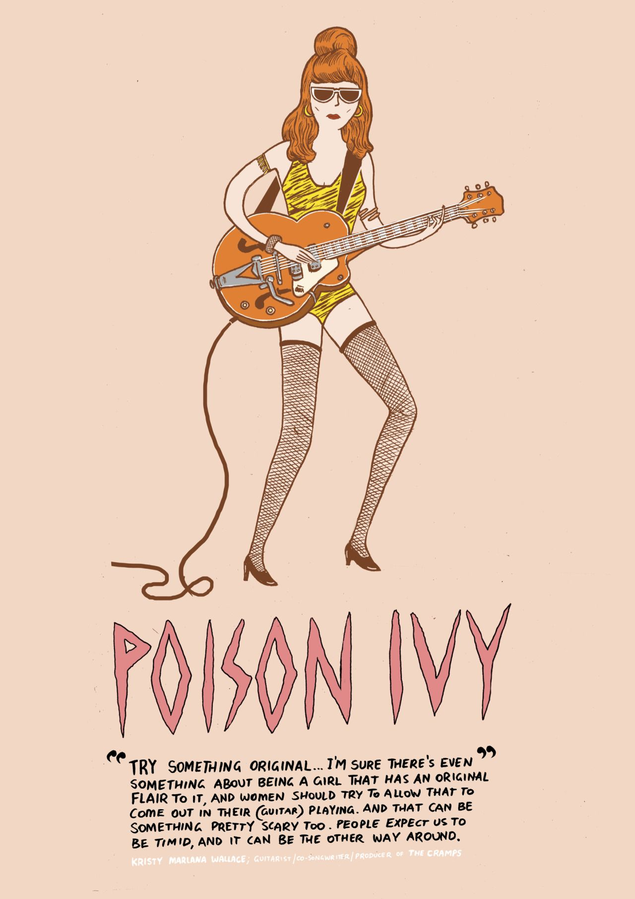 "This weeks Illustrated Woman in History was illustrated by Jabe Nicholls @xeros-junkyard , who explains her choice below. It is featured in the second issue of the Illustrated Women in History zine which you can order here. ""I chose Poison Ivy from..."