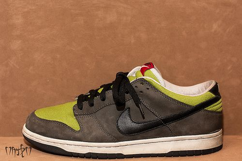 "Nike Dunk ""Kermits"".  I wanted these sneakers when I was 14"