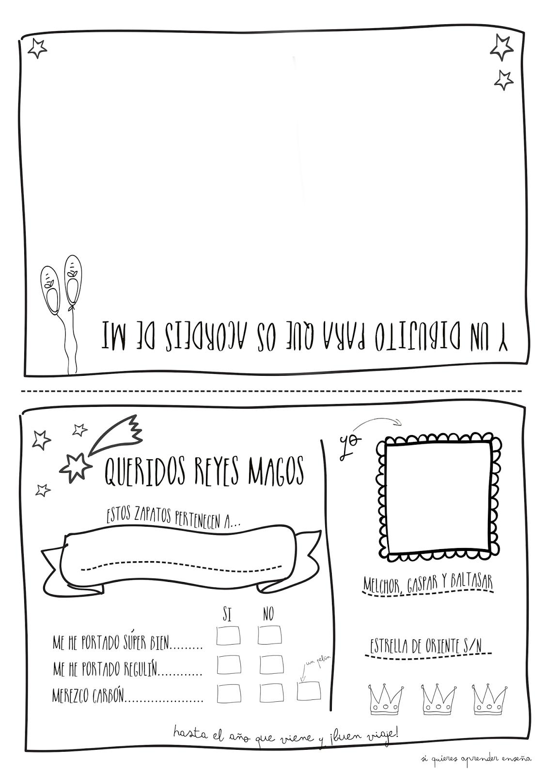 Si Quieres Aprender Ensena Para Los Reyes Magos