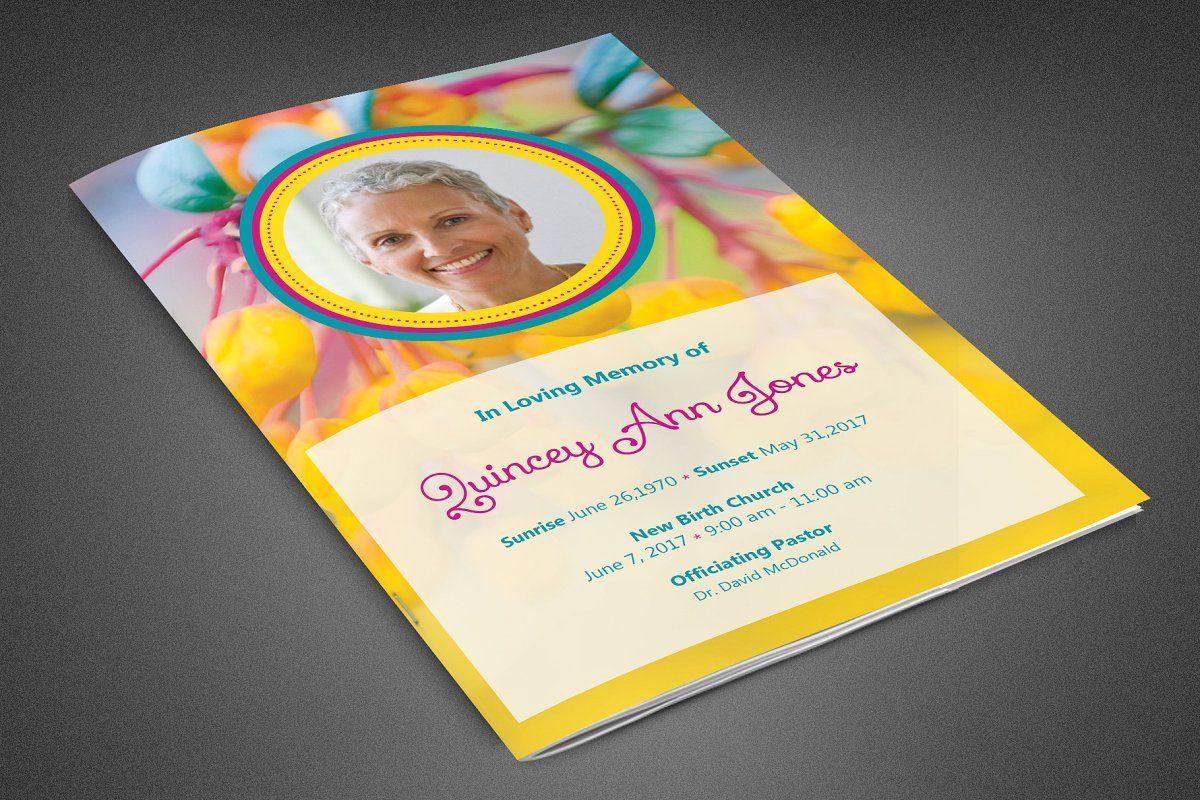 Heavens gateway funeral program in 2020 funeral program