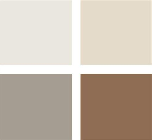 Paleta Gris Beige Y Marron Combinacion De Colores Neutros Paletas De Colores Grises Colores Para Habitaciones