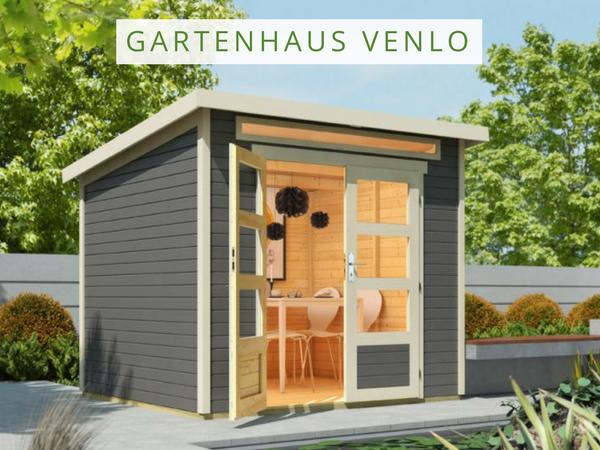 Wolff Flachdach Gartenhaus Venlo Flachdach gartenhaus