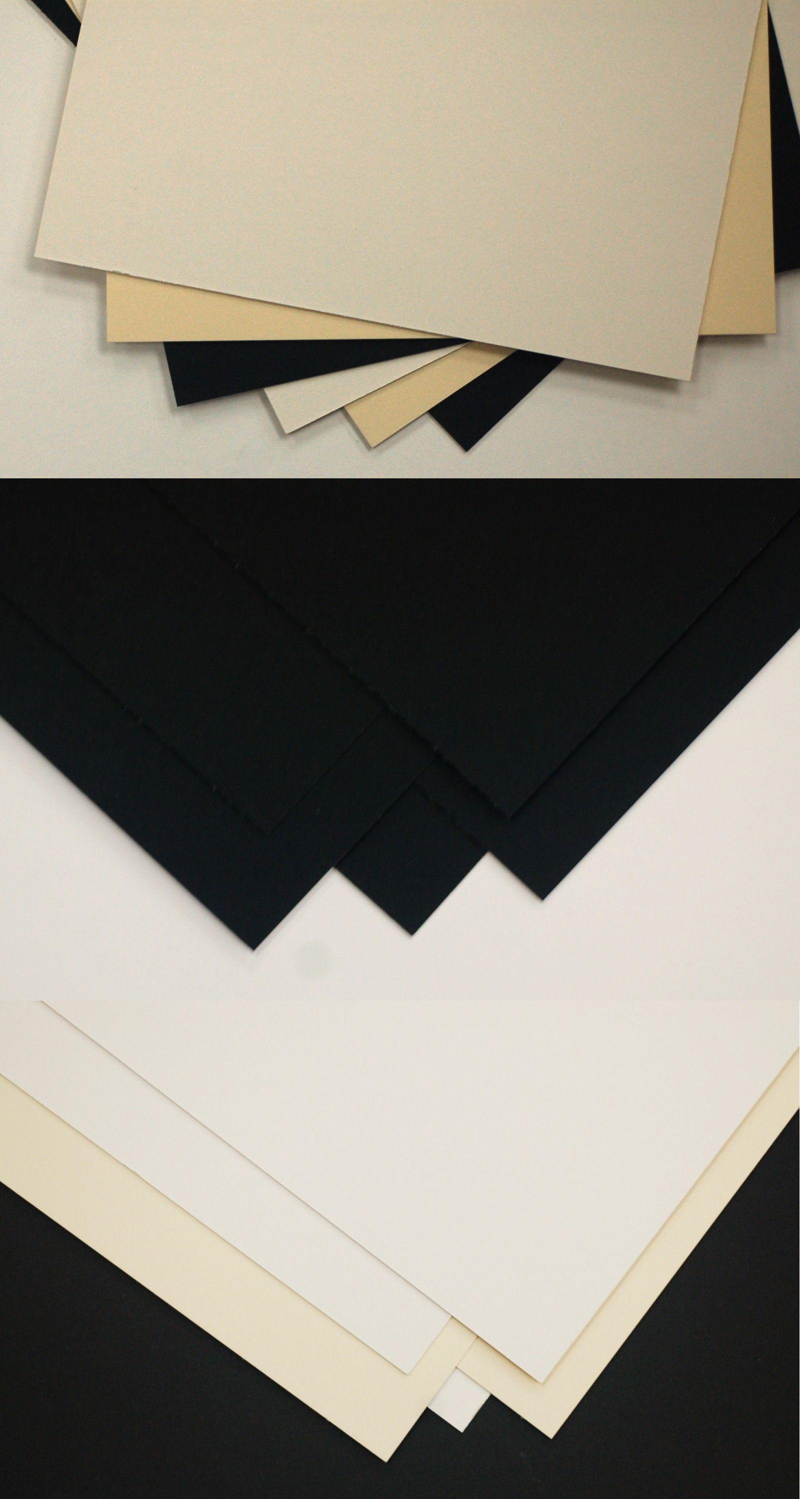 topseller100 Pack of 50 sheets 11x14 UNCUT mat matboard MIX Color