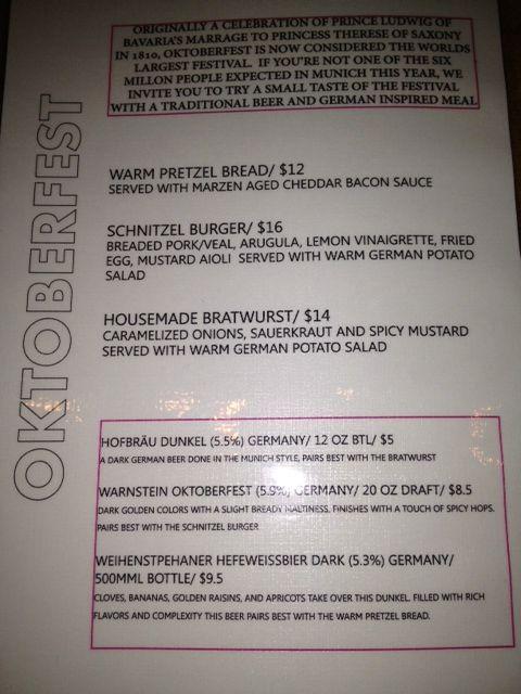 Octoberfest food menu #octoberfestfood Octoberfest food menu #octoberfestfood