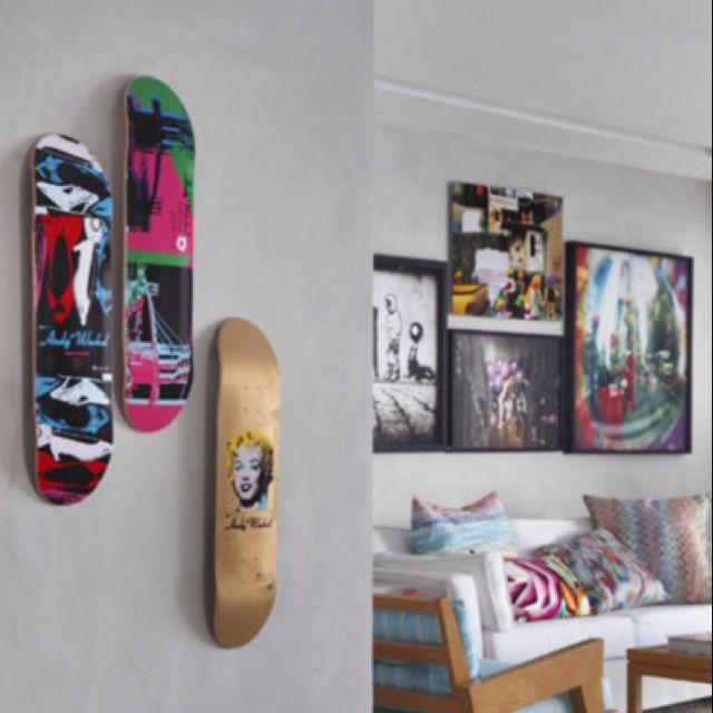 Skateboard Wall Art Skateboard Room Skateboard Wall Art Decor