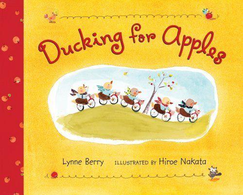 Ducking for Apples by Lynne Berry, http://www.amazon.com/dp/0805089357/ref=cm_sw_r_pi_dp_zKdIpb0B028HC
