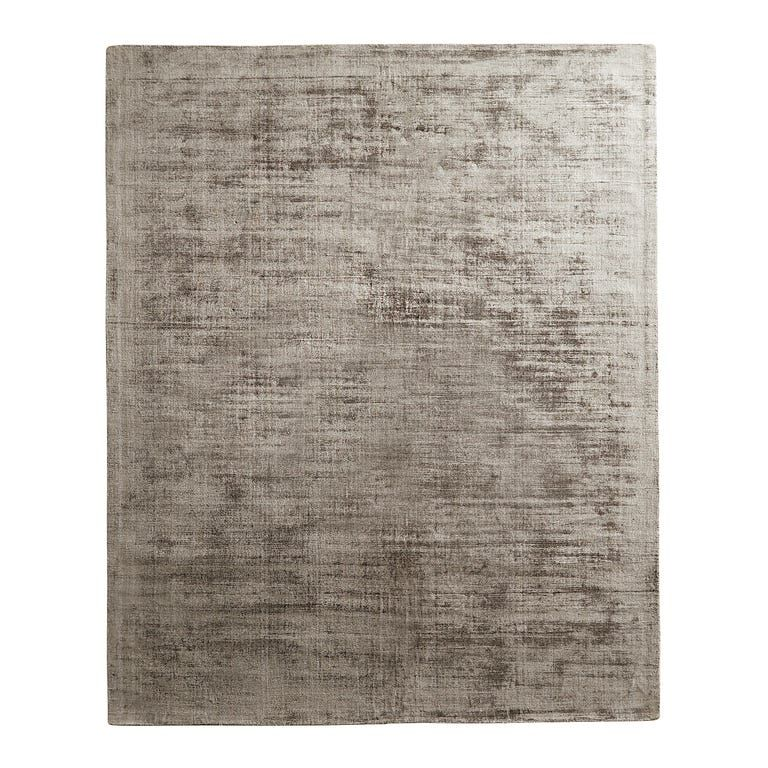 Luxe Silver 6x9 Rug In 2020 Rugs Luxe Decor Solid Rugs