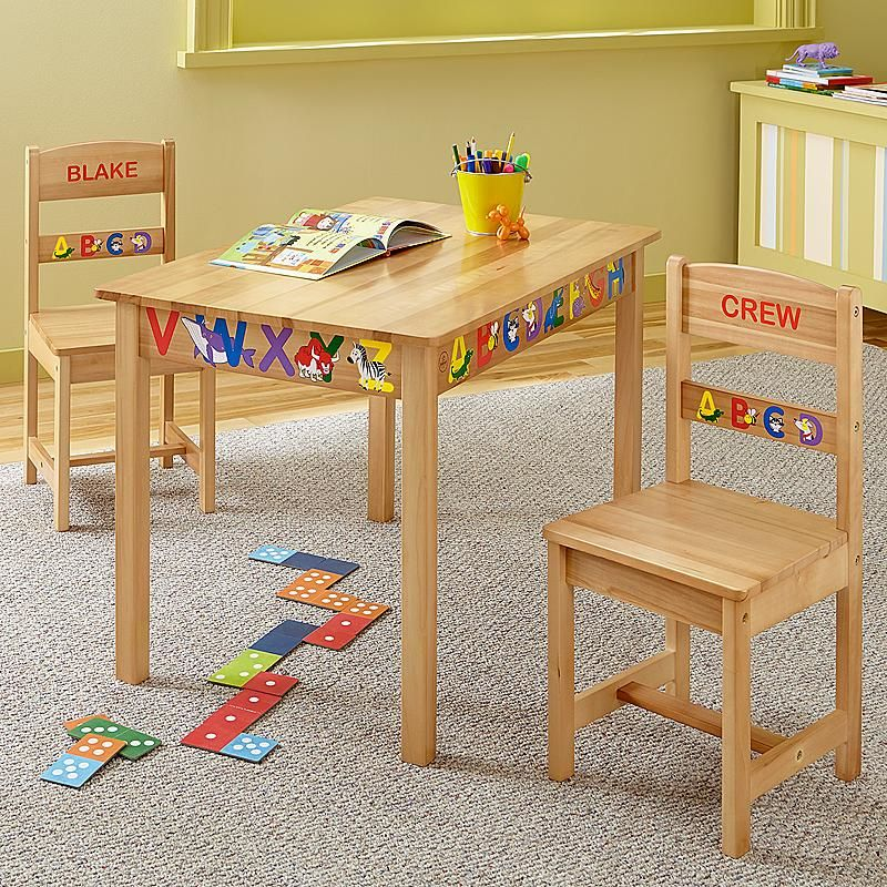 Kidkraft Rectangle Table and 2pc Chair Set | Liam and harper ...