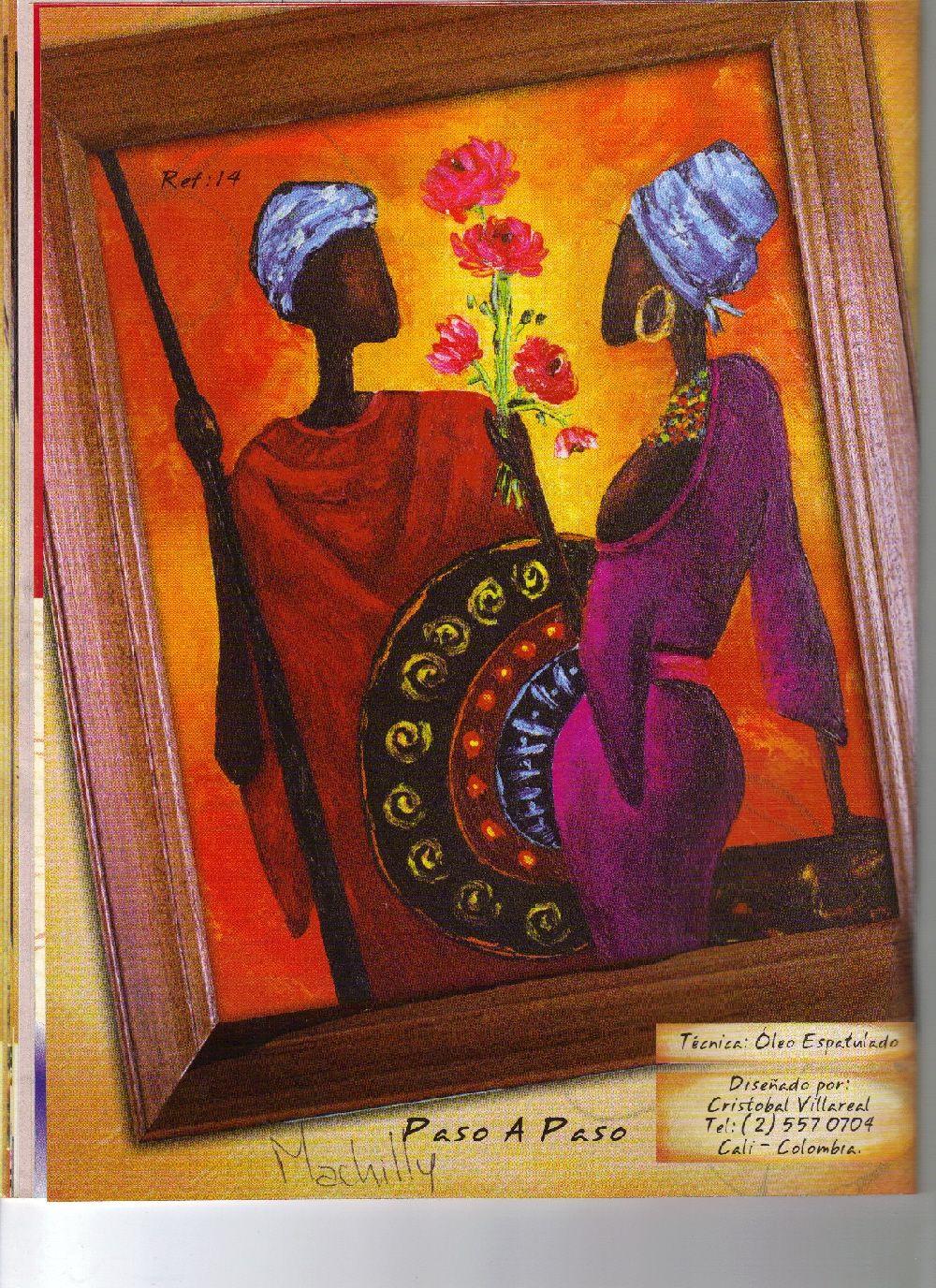 Pintura sobre todo pintando africanas africanos pintar for Ideas para pintar cuadros