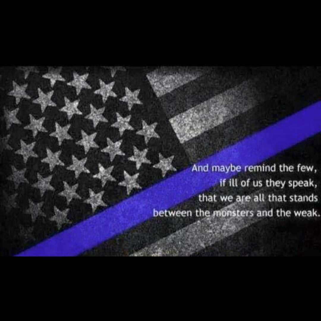 Thin Blue Line Thinblueline Thin Blue Line Flag Thin Blue Line Wallpaper American Flag Wallpaper