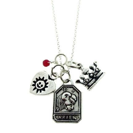 Happy Birthday, #Aries! Celebrate with our Aries Zodiac Charm Necklace.