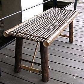 Kết quả hình ảnh cho bamboo bench