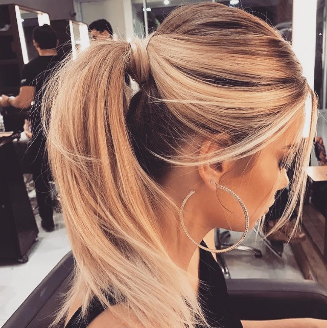 Women Haircuts Blonde Short Pixie Frisuren Pferdeschwanz