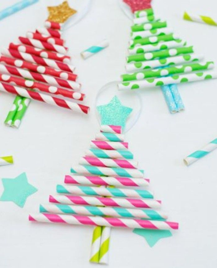 Weihnachtsbasteln mit Kindern- 62 DIY Ideen, die e
